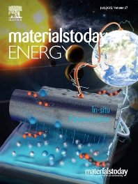 Cover image for Materials Today Energy