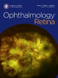 Cover image for Ophthalmology Retina