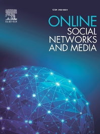 cover of Online Social Networks and Media