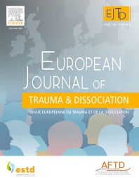 Cover image for European Journal of Trauma & Dissociation