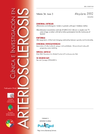 Cover image for Clínica e Investigación en Arteriosclerosis (English Edition)