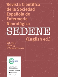 Cover image for Revista Científica de la Sociedad Española de Enfermería Neurológica (English Edition)