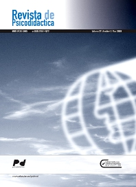 Cover image for Revista de Psicodidáctica (English Edition)