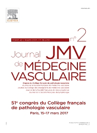 Cover image for JMV-Journal de Médecine Vasculaire