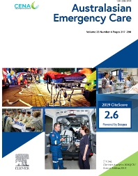 Cover image for Australasian Emergency Care