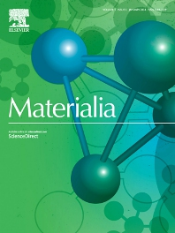 Cover image for Materialia