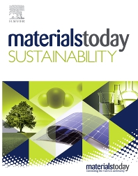 Cover image for Materials Today Sustainability