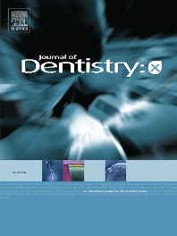 Cover image for Journal of Dentistry: X