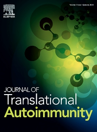 Cover image for Journal of Translational Autoimmunity