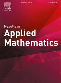 Cover image for Results in Applied Mathematics