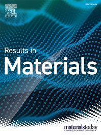 Cover image for Results in Materials