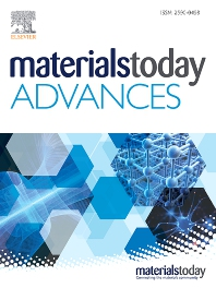 Cover image for Materials Today Advances