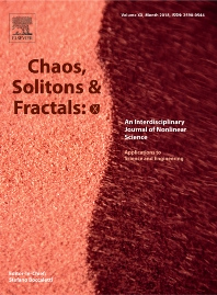 Cover image for Chaos, Solitons & Fractals: X
