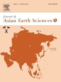 Cover image for Journal of Asian Earth Sciences: X