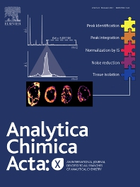 Cover image for Analytica Chimica Acta: X