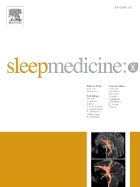 Cover image for Sleep Medicine: X