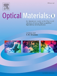 Cover image for Optical Materials: X