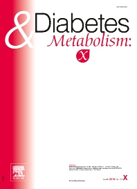 Cover image for Diabetes & Metabolism: X
