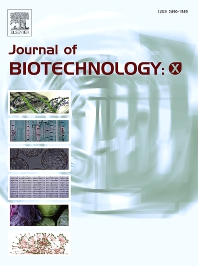 Cover image for Journal of Biotechnology: X