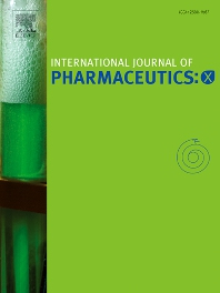 Cover image for International Journal of Pharmaceutics: X