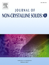 Cover image for Journal of Non-Crystalline Solids: X