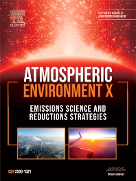 Cover image for Atmospheric Environment: X
