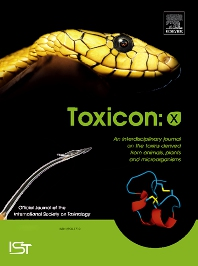 Cover image for Toxicon: X