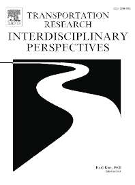 Cover image for Transportation Research Interdisciplinary Perspectives