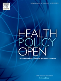 Cover image for Health Policy OPEN