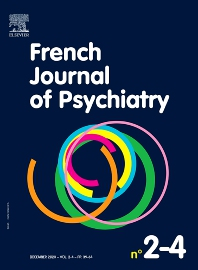 Cover image for French Journal of Psychiatry