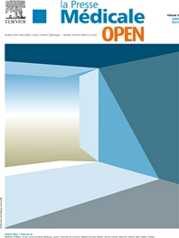 Cover image for La Presse Médicale Open