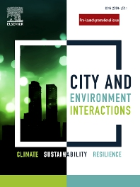 Cover image for Communications on City-Environment Interactions