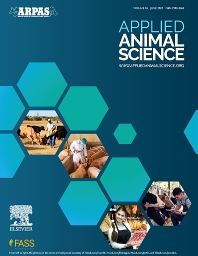 Cover image for Applied Animal Science