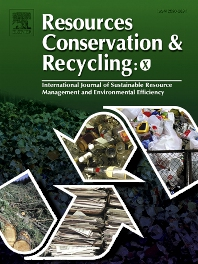 Cover image for Resources, Conservation & Recycling: X