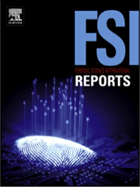Cover image for Forensic Science International: Reports