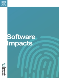Cover image for Software Impacts