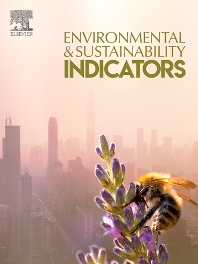 Cover image for Environmental and Sustainability Indicators