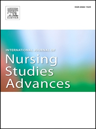 Cover image for International Journal of Nursing Studies Advances