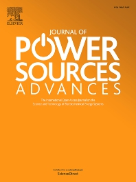 Cover image for Journal of Power Sources Advances