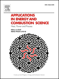 Cover image for Applications in Energy and Combustion Science