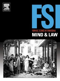 Cover image for Forensic Science International: Mind and Law
