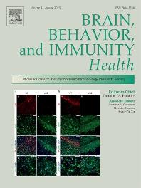 Cover image for Brain, Behavior, & Immunity - Health