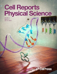Cover image for Cell Reports Physical Science