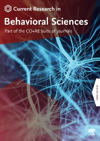 Cover image for Current Research in Behavioral Sciences