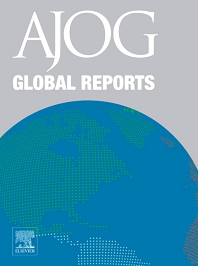 Cover image for AJOG Global Reports