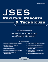 Cover image for JSES Reviews, Reports, and Techniques