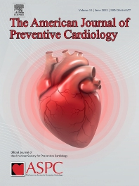 Cover image for American Journal of Preventive Cardiology