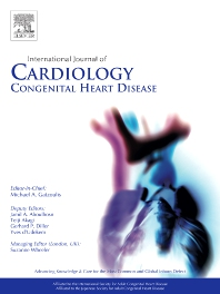 Cover image for International Journal of Cardiology Congenital Heart Disease