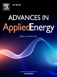 Cover image for Advances in Applied Energy