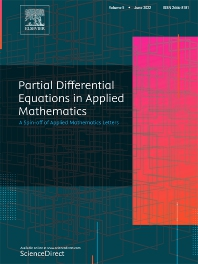 Cover image for Partial Differential Equations in Applied Mathematics
